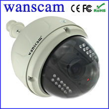 Vandal-proof IR IP Dome Camera With PTZ POE Network CCTV