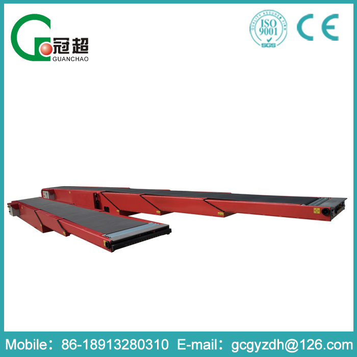 GUANCHAO-Free customize CE standard safety protection device high efficiency rubber coal belt conveyor