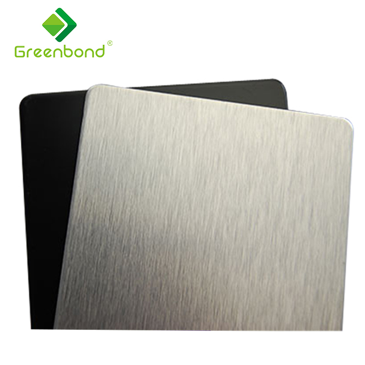 Greenbond fireproo acp pvdf coating outdoor sign board aluminum composit panel material