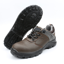 fashion woman electric shock proof steel toe cap work safety shoes
