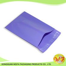 Custom Logo Printed Hard Plastic Shipping Envelopes / Mailing Poly Bags For Clothing