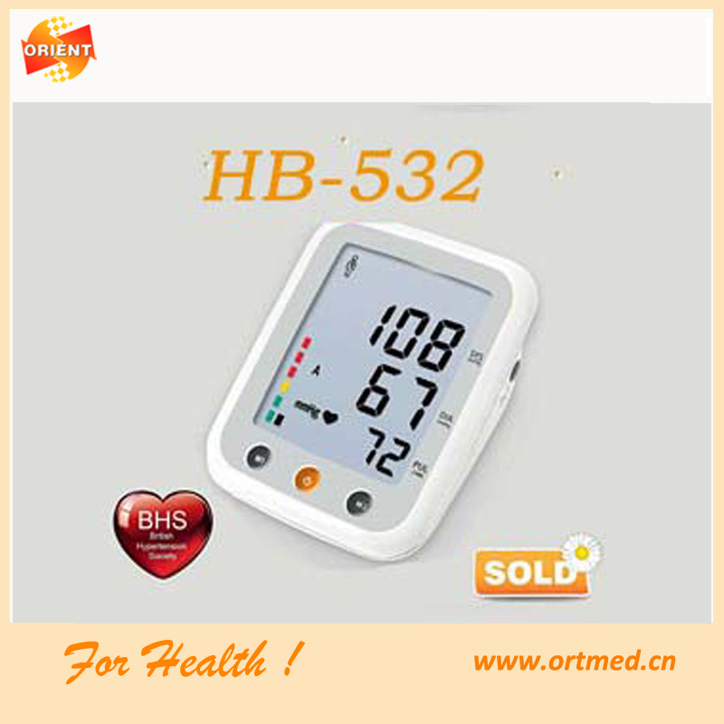 home use finge/standing/ free blood pressure monitor