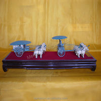 High imitation bronze chariots terra cotta warriors sculpture