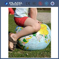 PVC inflatable gaint global beach ball for children, inflatable gaint earth beach ball