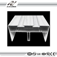 extruded aluminum sliding window door frame track channel