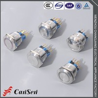 Professional custom IP67 IK10 mini waterproof push button switch