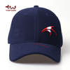 Manufacturers HIgh quality 3D Embroidery Navy Blue 6 Panels No Mesh Baseball Caps Men Custom Fitted Sports Hat