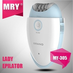 rechargeable lady travel epilator/pearl shaver epilator