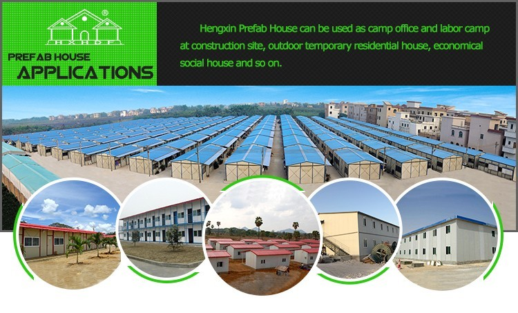 Light steel construction easy assembling prefab houses made in China