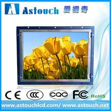 Hot selling 15 inch industrial lcd frame monitor for cnc machine for rental kiosk