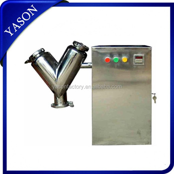 V Type Mixer Machine V Model Powder Mixer Lab Use V Mixer VH-5 With 2Kg Mixing Capacity