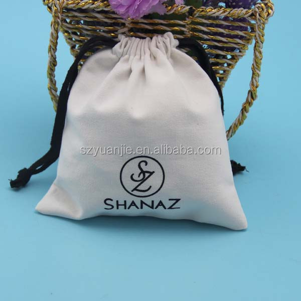 custom size large cotton dust bag for clutches