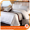 Royal white European size duvet covers five star hotel bedsheets
