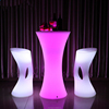 Illuminated Brilliant High Top Cocktail Tables