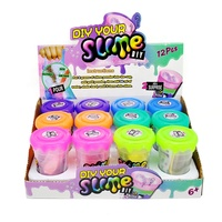 China Factory Wholesale Shake Slime Putty Powder DIY playdough educational toy In Stock