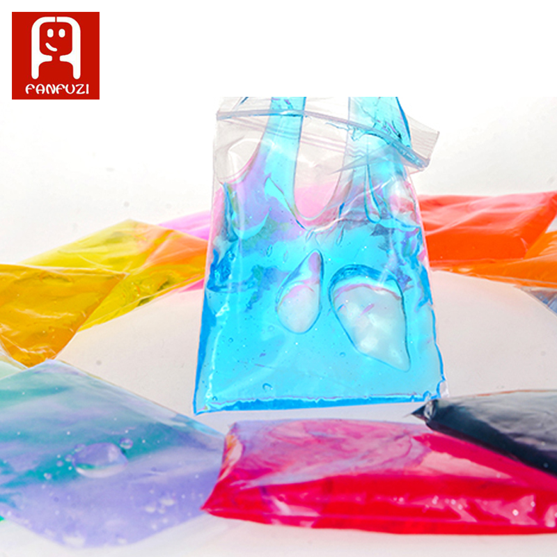 DIY educational toys 12 colors crystal slime