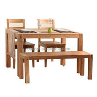 Oregon Solid Wood Oak Dining Table