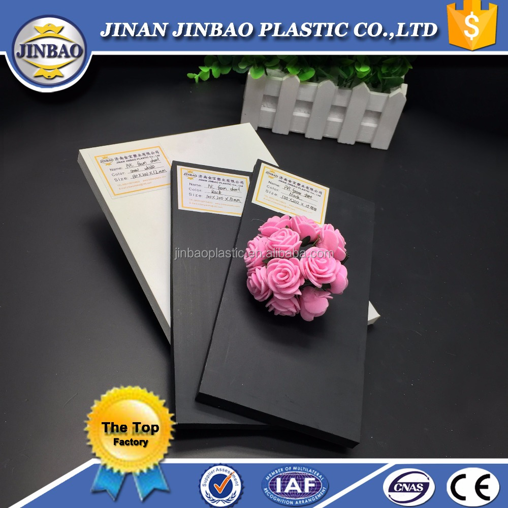 JINBAO pvc foam board 4x8 plastic sheet panel painting