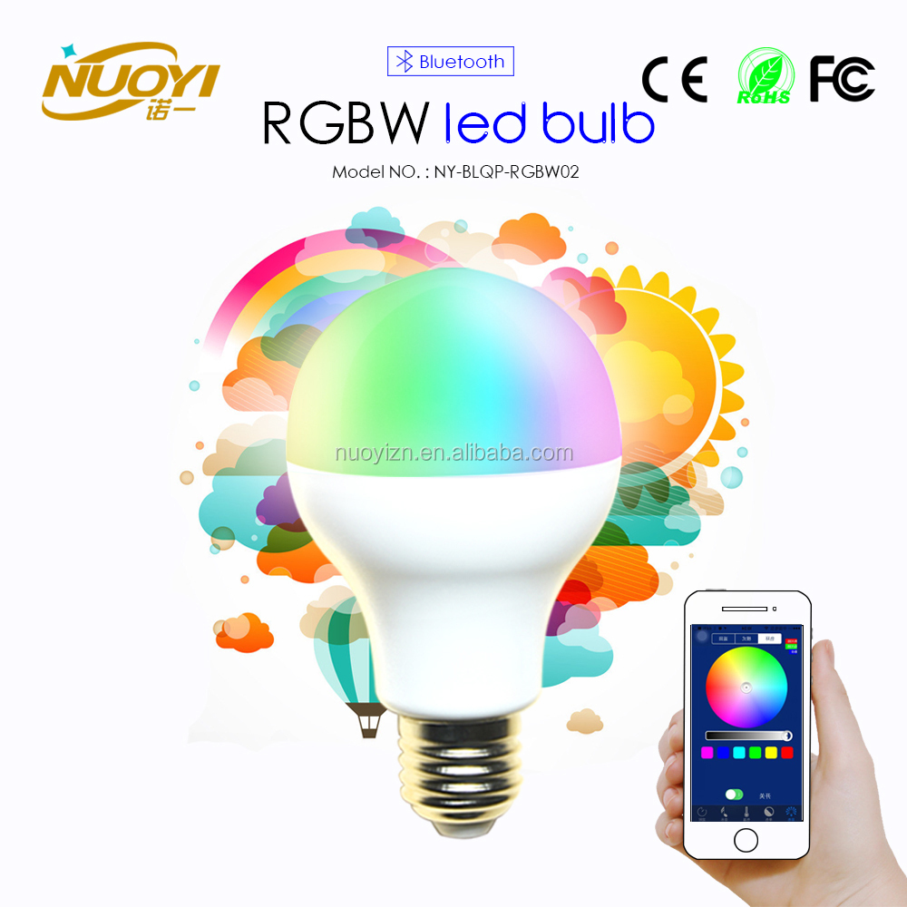 Bluetooth RGBW LED Bulb E27 7W
