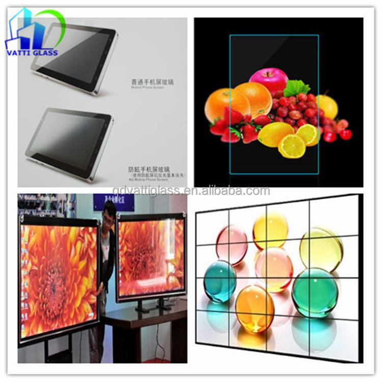 non glare picture frame glass anti glare glass for screen