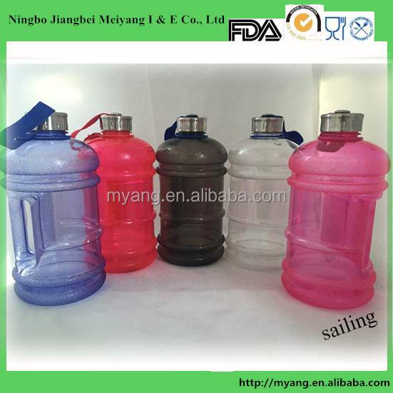 BPA FREE 2.2 liter water bottle with handle/2.2 plastic water jug with lids/OEM Plastic Bottle