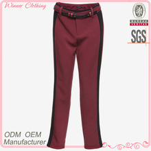 Trousers manufacturer good quality close-fitting camo cargo pants for women