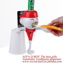 AiYa cute atuomatic no touch toothpaste dispenser gifts for blind children