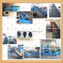 Disposal of Car Tyres Recycling to Rubber Powder Machine Line