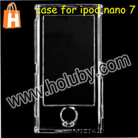 Simple Style Full Body Transparent Hard Case for iPod Nano 7