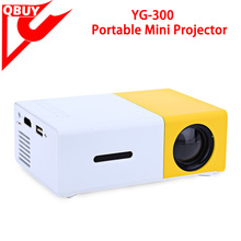 YG300 Built-in Battery Portable Mini Pocket Projector HD 1080P Mini Projector YG300 with TV Tuner