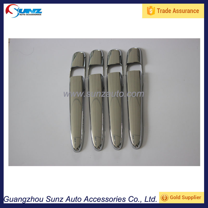 ABS Chromed Door Handle Cover For Toyota Avanza 2012 Exterior Accessories