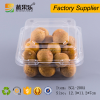 China plastic fruit vegetable punnet packaging boxes