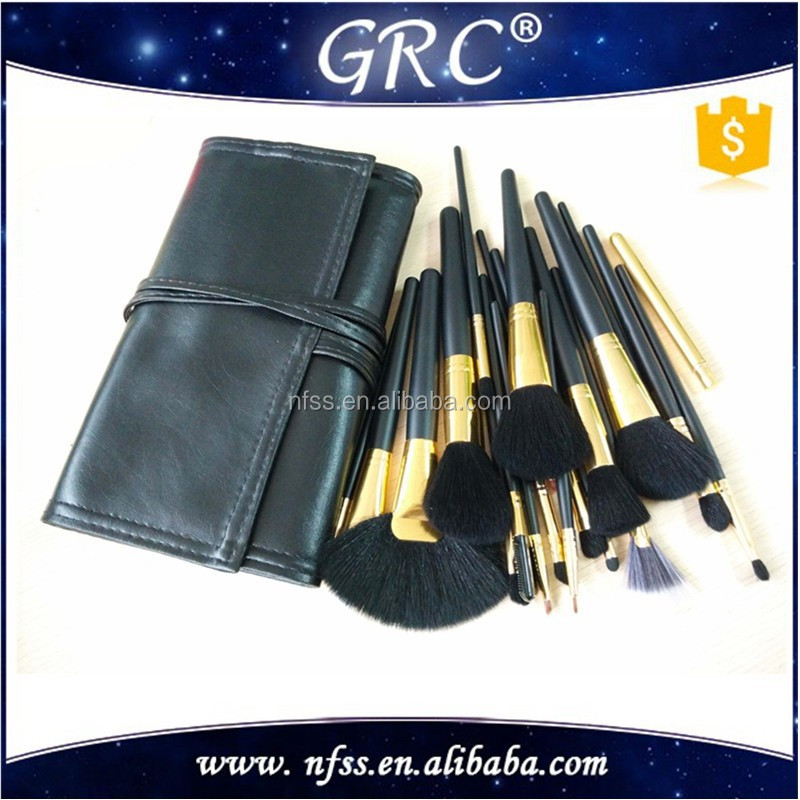 wholesale cheap price make up brushes set ,make up brushes ,nylon hair mak up brush set