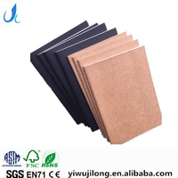 Hot selling A6 size paper notebook kraft cover note book have stock