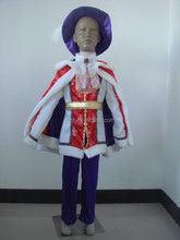 Halloween carnival Party quality child prince costume for boys KC-0054