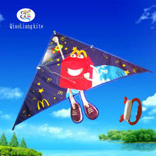 High Quality Outdoor Toys Promotional Advertising Delta Sport Kite