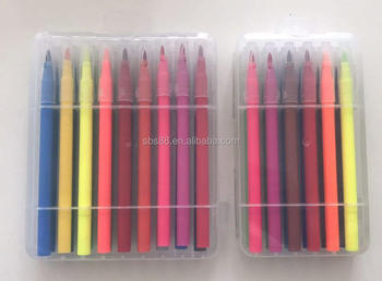 36 colors washable double tips jumbo marker pen