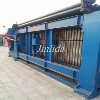 Automatic Double Rack Drive Gabion box Machine For 120x150mm mesh size