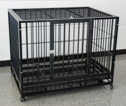 large welded wire mesh square tube dog house kennel pet cages