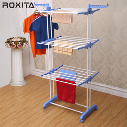 RX-CR300W folding adjustable clothes stainless steel dog clothes hanger