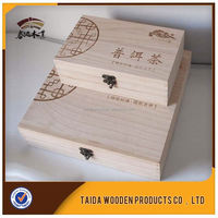 Weddings Decoration Wholesale Bamboo Tea Box