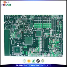 Laser vias and plating High Density Interconnect HDI PCB ROHS/UL/SGS/ISO9001 certification