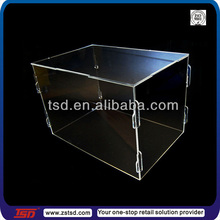 TSD-A1071 china factory custom clear plexiglass box/acrylic square box/plexiglass containers