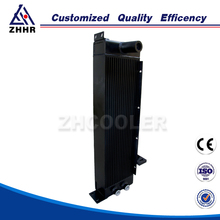 Air to water heat exchanger with fan machine manufacturers