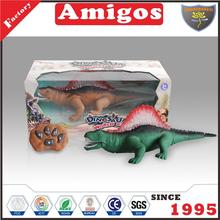 child rc dinosaur green/brown animal radio control from China