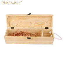 New wooden Box Classical red wine gift boxes wine packaging boxes carry case wine holder