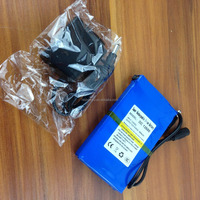 Shenzhen battery manufacturer DC 12680 6800mAh rechargeable 12V li-ion polymer battery for GPS,Lan router