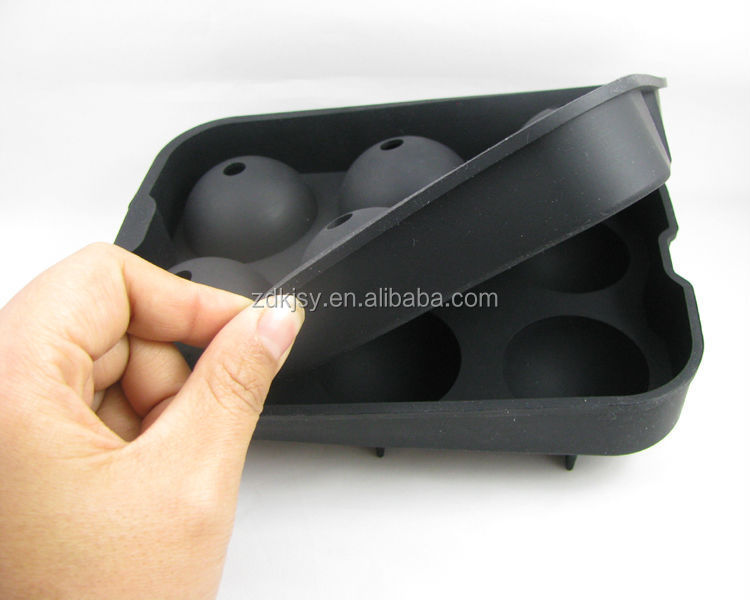 reusable ice cubes factory price food grade silicone ice cube tray