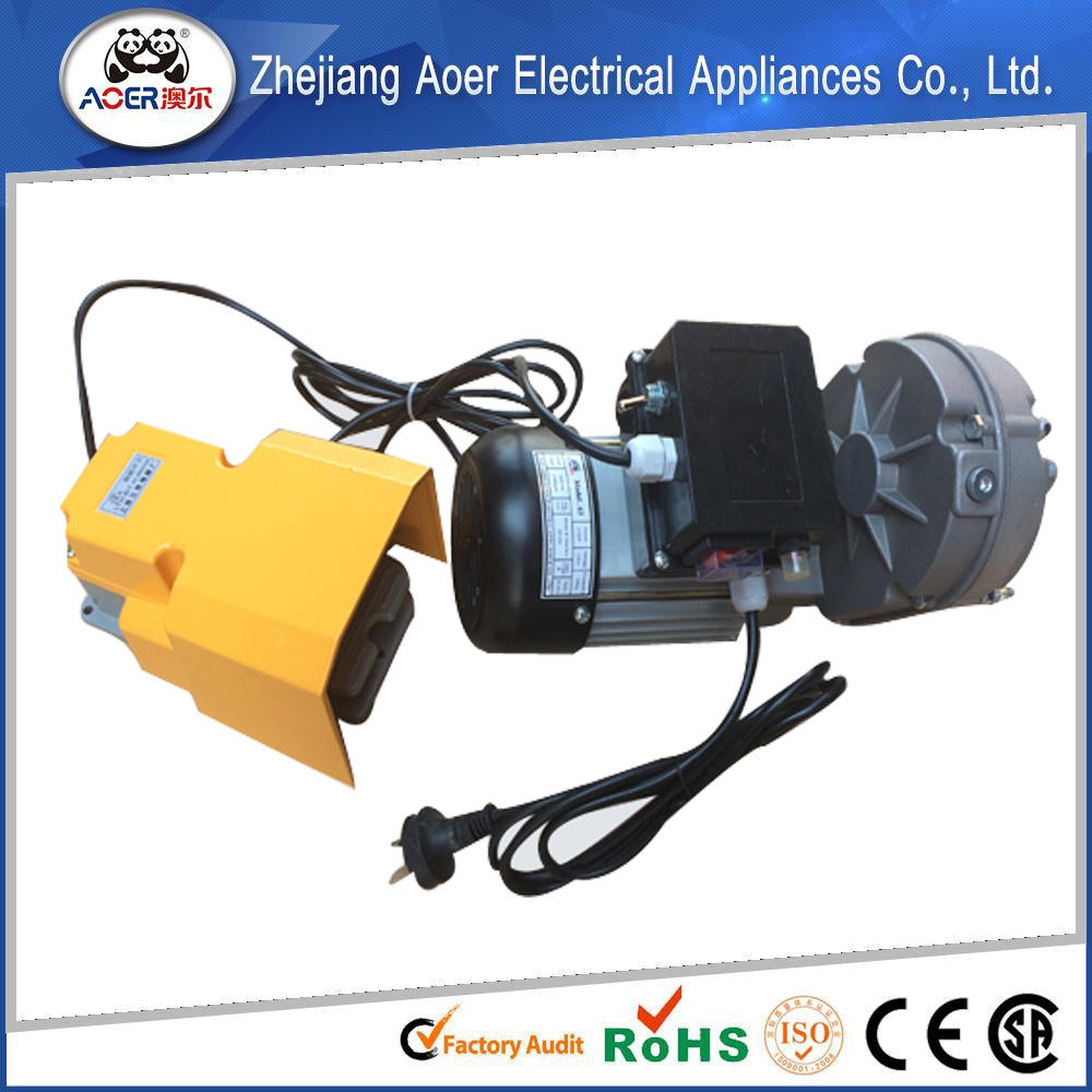 Ac single phase gear small electric motor low rpm with for Small electric motor gears
