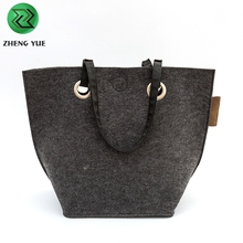Hot Sale 2018 New Fashion Felt Women Tote Bag For Shopping